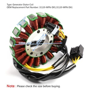 Image 2 - Areyourshop motocicleta Magneto bobina de estator generador para Honda CB 1000 R CB1000R 2009 16 31120 MFN D61 Motor bobina Accesorios