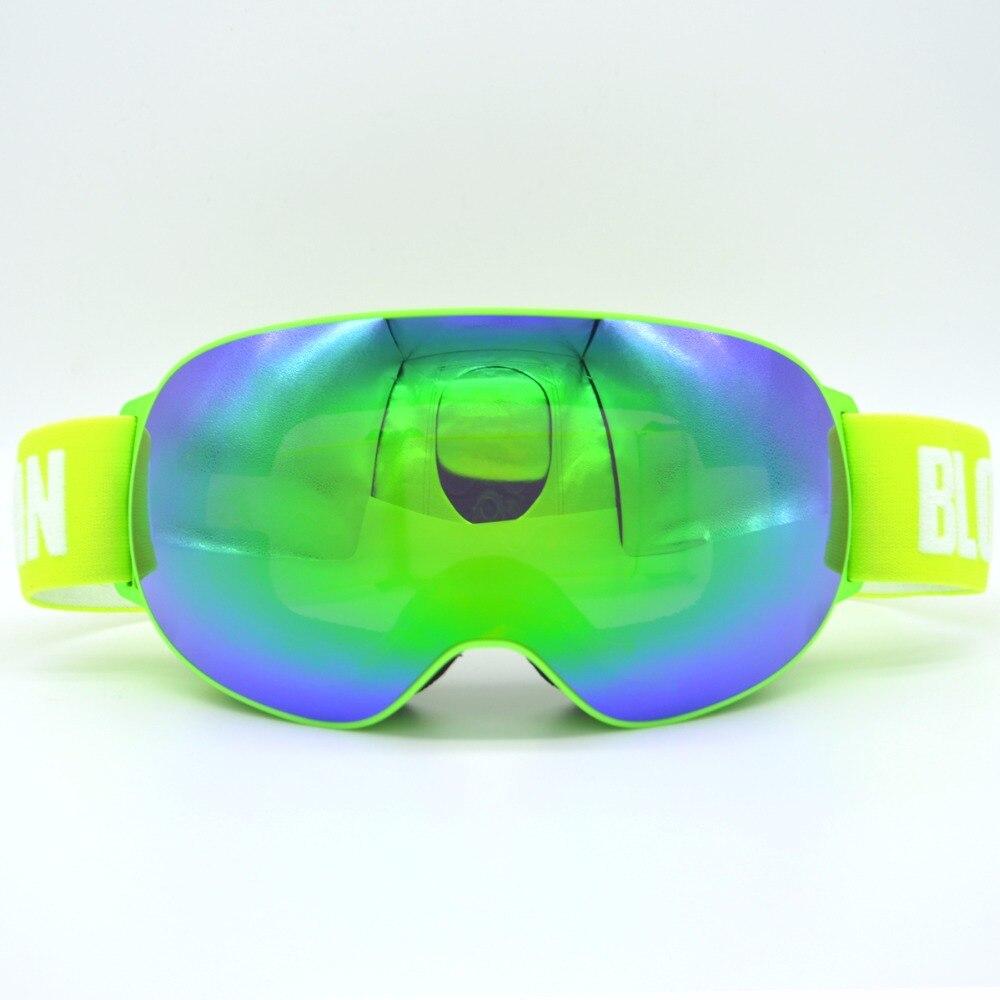 Nouveautés Professionnel Polarisées Homme Femmes Masque de Ski Double Lentille Ski Lunettes UV-protéger Sports de Neige Lunettes de Ski Lunettes - 4