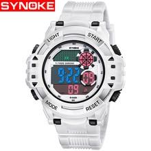 SYNOKE Men's Watch LED Digital Sport Men Wristwatch Electronic Luxury W