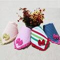 2 pc/lot moda de impresión 100% algodón productos para bebés unisex muchachas del niño del bebé muchachos de la bufanda infantil kids Paños Del Burp baberos toalla toalla