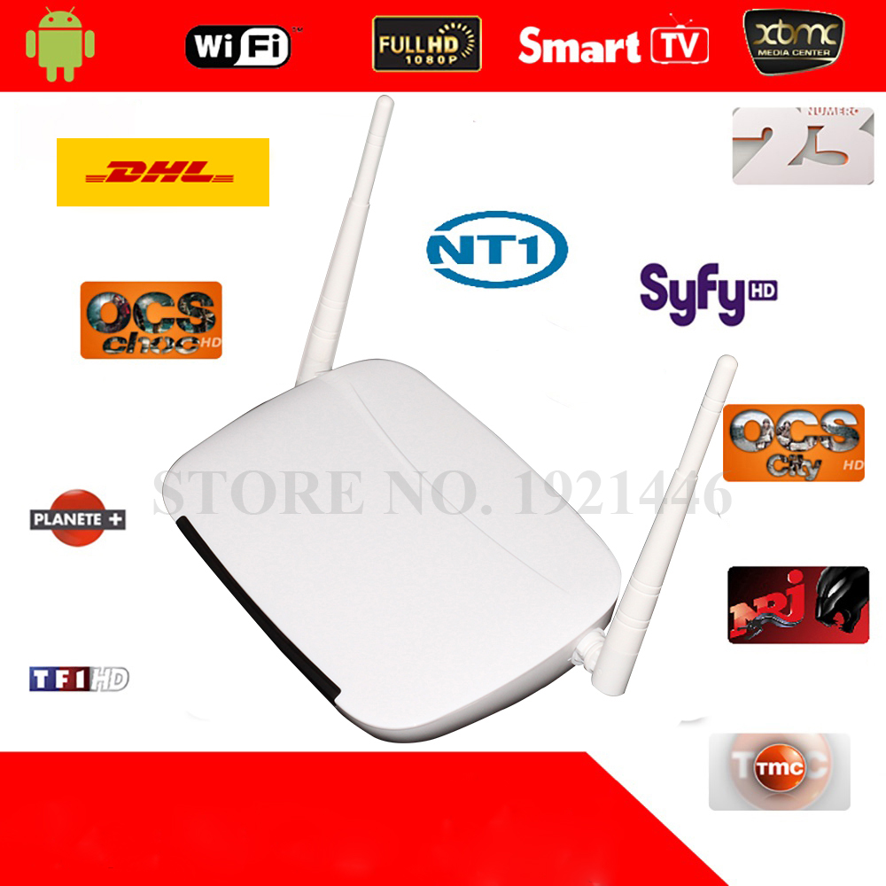 Updated IUDTV IPTV CODE 1300 European Channels font b Android b font Mini PC 1 Year