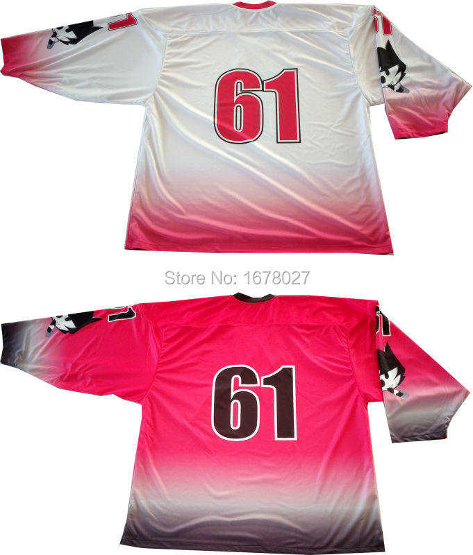 reversible hockey jersey