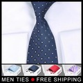 Бесплатная доставка мужской галстук набор Галстук + запонки + галстук контакты + карман квадратных + коробка Значение Подарочный Набор 5 компл./лот 23 стилей выбор