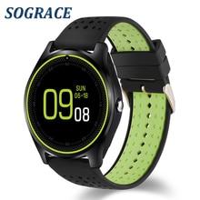 Câmera Do Relógio Inteligente Bluetooth Smartwatch Sograce Dispositivos Wearable Melhor Do Que o Cartão SIM Relógio de Pulso para Android Telefone dz09 A1 gt08