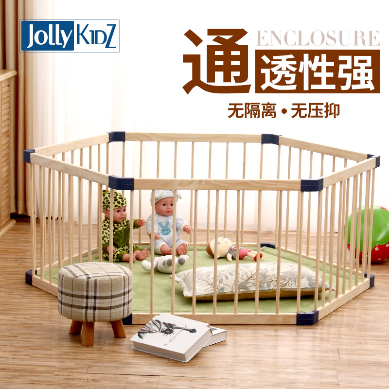 solid wood baby playpen Indoor Children's Game Fence, Baby Crawl, Toddler's Baby's Solid Wood Safety Fence