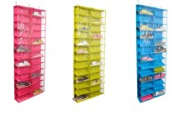 26 pair shoe rack , pocket Hanging Organizer/Rack, Door Storage, Door Space Saver, Door Sundries Storage Organizer