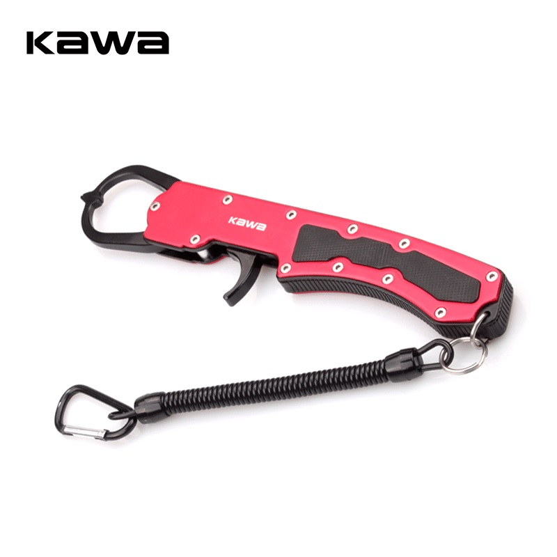 2018 KAWA New Fishing Grip Aluminum Alloy Gripper Grabber Grips Fishing Tackle Tool Fishing Accessory High Quality Free Shipping