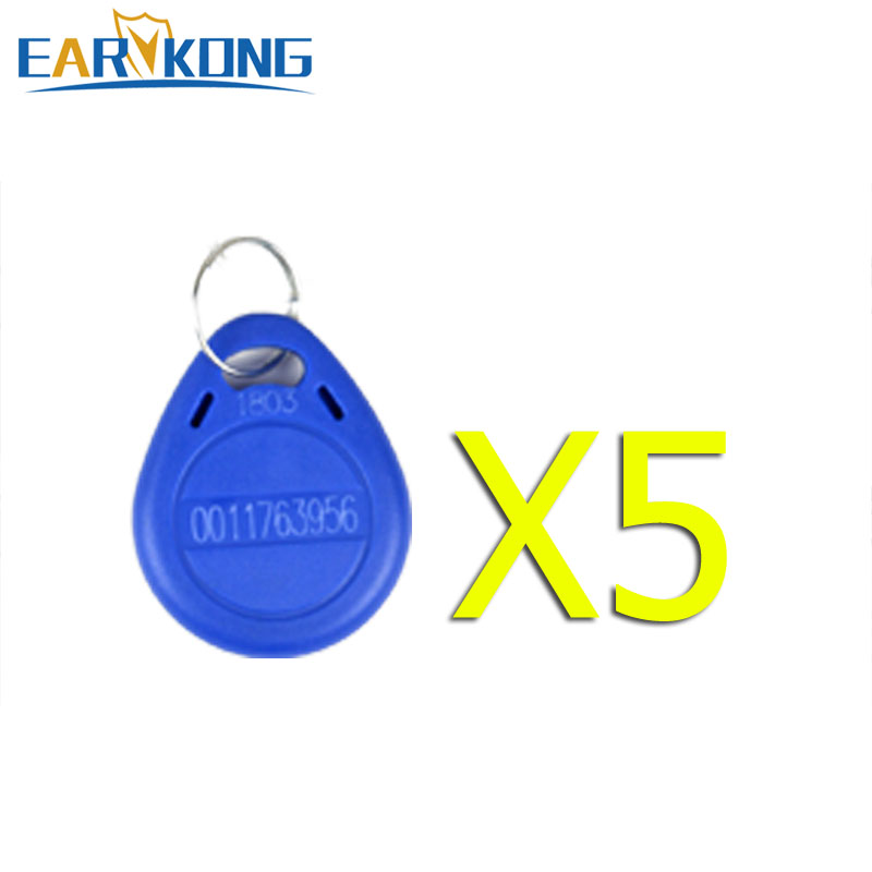 5 Pieces RFID Card For Our Earykong Home Security Wifi / GSM Alarm System