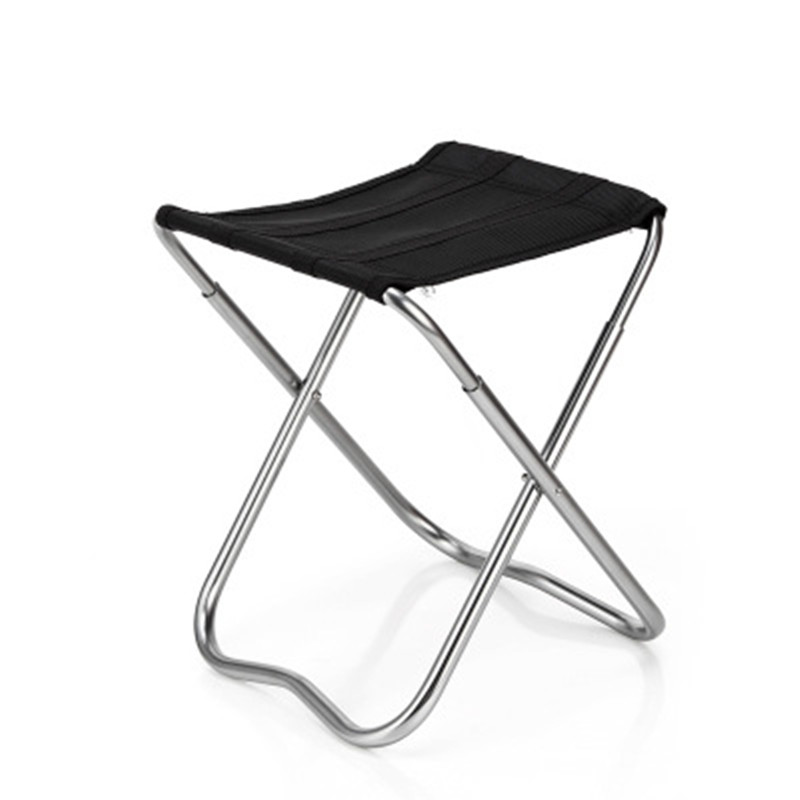 Small Portable Stainless Steel Fishing Seat Travel Barbecue Beach Backpacking Outdoor Beach Chairs кошелек small beach