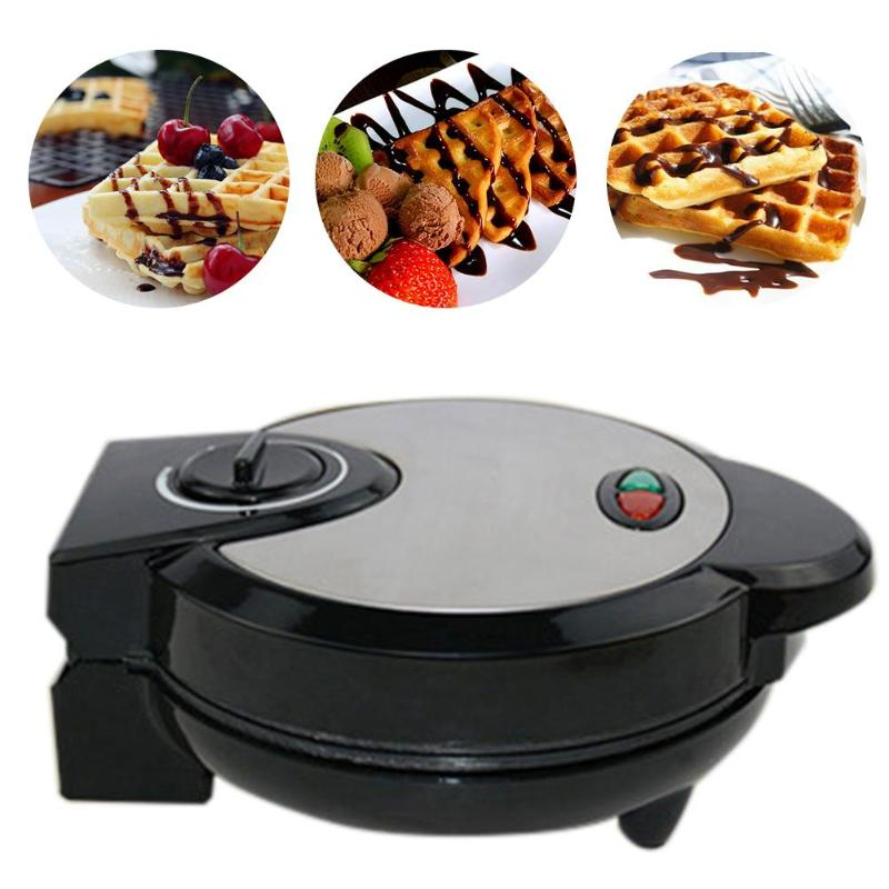 1200W Multi functional Waffle Maker Muffin Machine double side heating Electric Cake Pan Breakfast Machine for Children Kids
