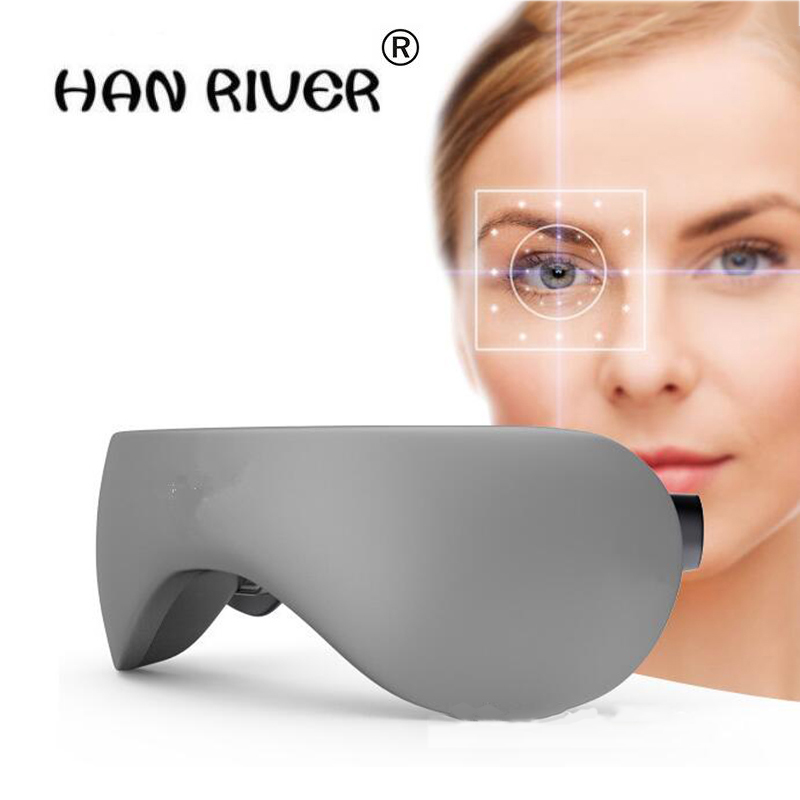 Wireless 3D Rechargeable Green Light Eye instrument Restore vision Eye Massager Child Myopia Treatment Massage eye glasses цена 2017