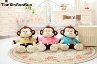 large 65cm cartoon monkey plush toy, soft throw pillow birthday gift h2979