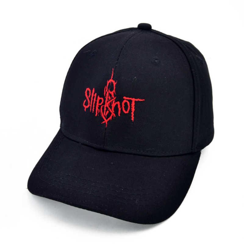 ead2fd3e4e3 new Slipknot Band Baseball caps Heavy metal rock band Letter hats Before I  Forget rock Hip
