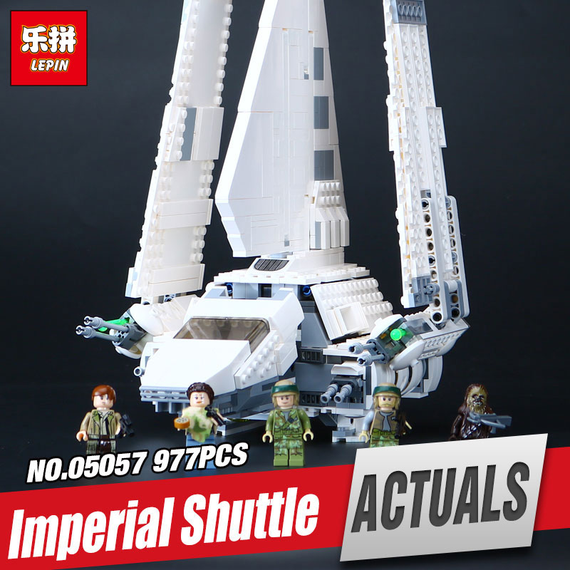 LEPIN 05057 New Star War Series Imperial Shuttle Tydirium Building Blocks Bricks Assembled Toys Compatible with 75094 Gifts ювелирное изделие 75094