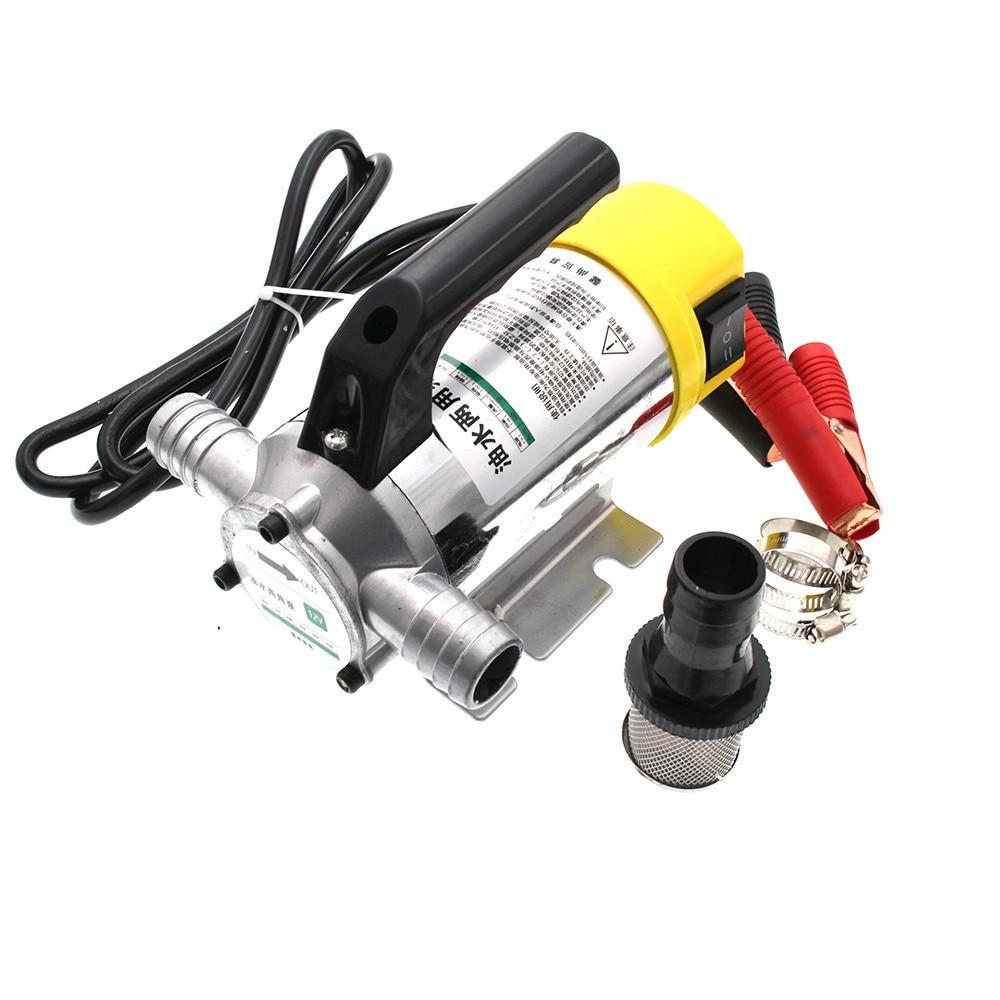 Diesel Oil Pump 12V 24V 220V Kerosene Diesel Oil Water Pump Filling  Positive And Negative Function 50L