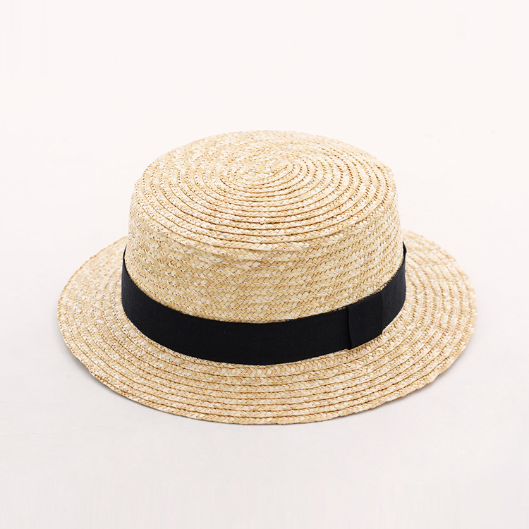 Sun Hat for Women Boater Straw Hat Summer Beach Hats 2018 New Fashion Top  Quality Ladies b79957c1f0e6
