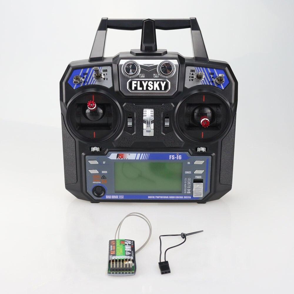Original Flysky FS-i6 FS I6 2,4g 6ch transmisor RC controlador FS-iA6 o IA6B receptor para avión Heli UAV de Multicopter Drone