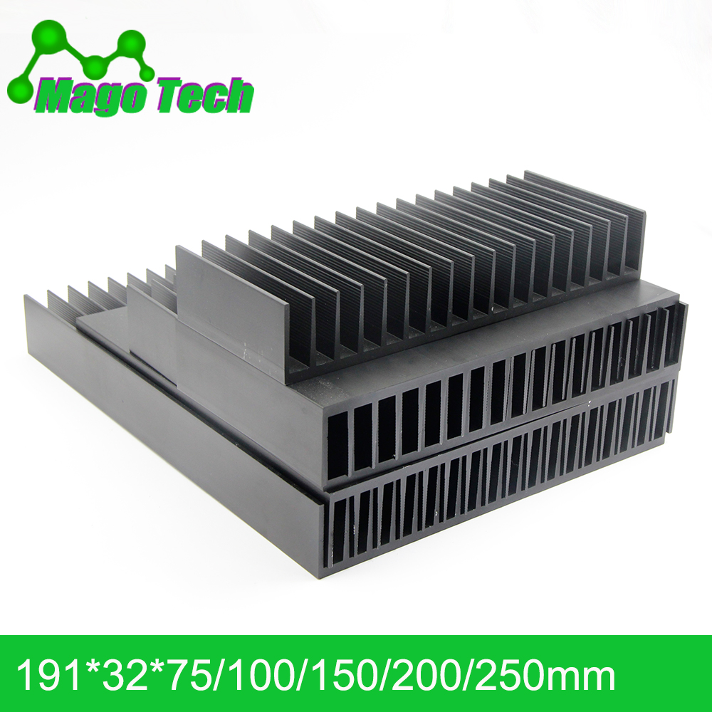 Aluminum Heat Sink 12V Cooling Fan for High Power 5W-100W LED Power Transistor
