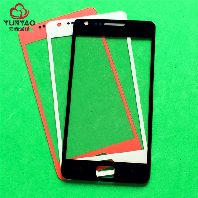 50pcs/lot Replacement LCD Front Touch Screen Glass Outer Lens For Samsung Galaxy S2 i9100