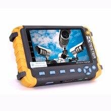 DHL Ücretsiz IV8W 5 Inç TFT LCD 5MP AHD TVI 4MP CVI CVBS CCTV Test Cihazı Güvenlik kamera test cihazı Monitör VGA HDMI giriş UTP Kablo Testi