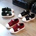 Free Shipping Star Totem Baby Shoes 2017 Sports Kids Shoes Corduroy Boys And Girls Fashion Sneakers Children Leisure Shoes