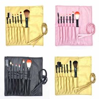 High Quality Makeup Artist Brush Tool Kit Magic Breast Brush Eyebrow Eyeliner Blush Brush 7pcs