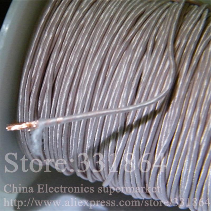 цена на 0.19mm 0.07x5 strands,(100m /pc) Mine antenna Litz wire,Multi-strand polyester silk envelope braided multi-strand wire
