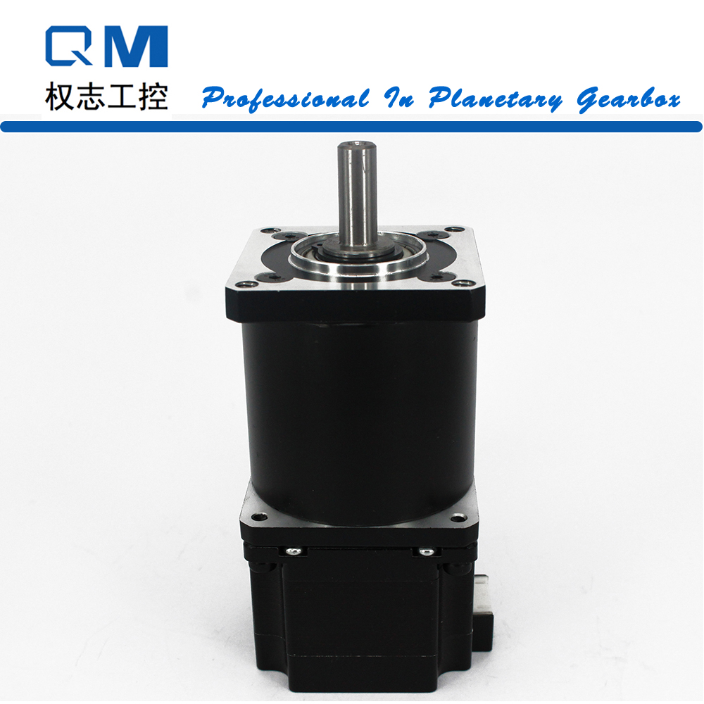 Geared stepper motor planetary reduction gearbox ratio 40:1 nema 23 stepper motor L=42mm cnc robot pump 57mm planetary gearbox geared stepper motor ratio 10 1 nema23 l 56mm 3a
