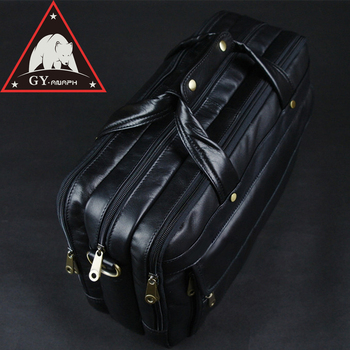 Full Grain Leather Business Briefcases For Men