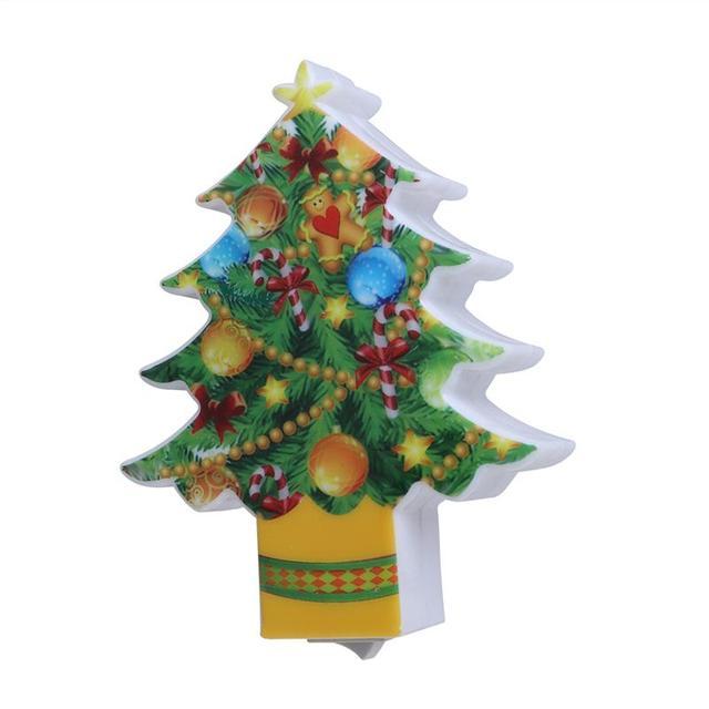 Glowing Mini Christmas Tree Led Light Plug In Night Light Lamp