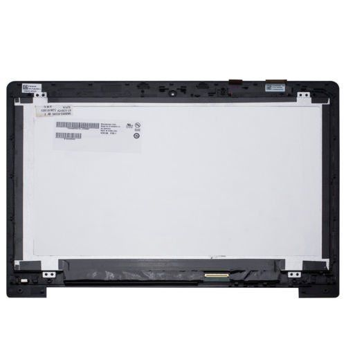 For Asus Vivobook S400 S400C S400CA 14 LCD Touch Screen Assembly With Frame asus vivobook x556uq