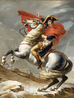 Professional Artist Pure Hand painted Classical Oil Painting French King Napoleon Riding Horse Oil Painting For Wall Decoration