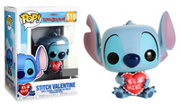 Exclusive Official Funko pop Lilo & Stitch Stitch (Valentine) Vinyl Action Figure Collectible Model Toy with Original Box