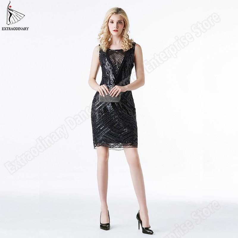 ><font><b>Art</b></font> <font><b>Deco</b></font> Dress Great Gatsby Dress Women 1920s <font><b>Style</b></font> Flapper Vintage Sequin Dresses Embellished Dress Roaring Sleeveless Summer