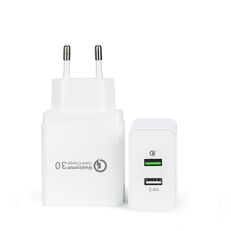 INGMAYA 2 Qualcomm Cepat Mengisi Charger USB 3.0 30 W 2.4A Untuk - Aksesori dan suku cadang ponsel - Foto 2