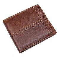 Genuine Leather Wallet for Men RFID Blocking Stylish Excellent Wallets Travel Bifold Purse R 8107 3