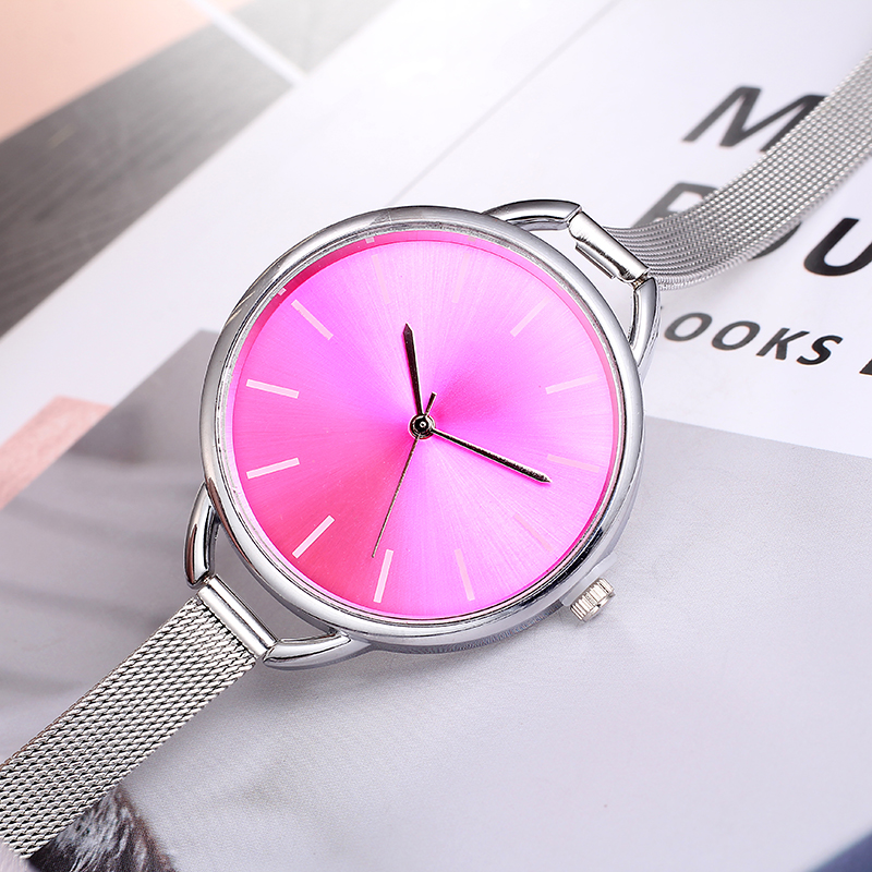 Top Luxury European Style Lady Watch Elegant Big Dial Quartz Super Slim Stainless Steel Bracelet Watch Women's Wrist Reloj Mujer HTB1zI9zdQfb uJkHFJHq6z4vFXaO