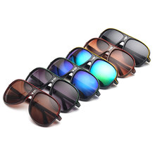 VFound Color Lens Vintage Male Sunglasses Outdoor UV400 Ray Anti-glare Clout Goggles Clear Aviator Mens Sun Glasses 40% 0516L