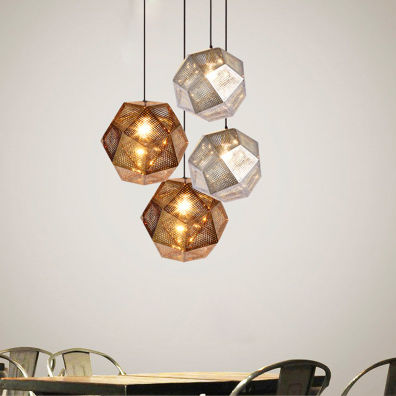 Nordic modern minimalist creative personalized bar restaurant lighting art coffee macarons color combination LED chandelier vintage clothing store personalized art chandelier chandelier edison the heavenly maids scatter blossoms tiny cages