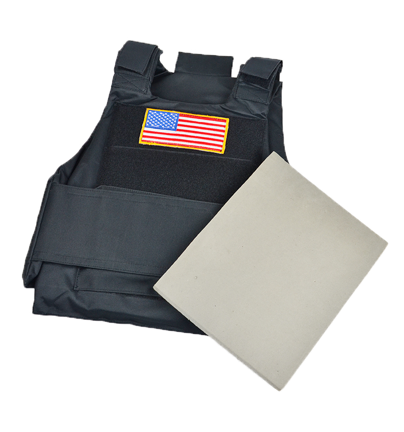 600D Stab-resistant CS Men's Outdoor Vest Armor (Pluggable) greenbean stab 600
