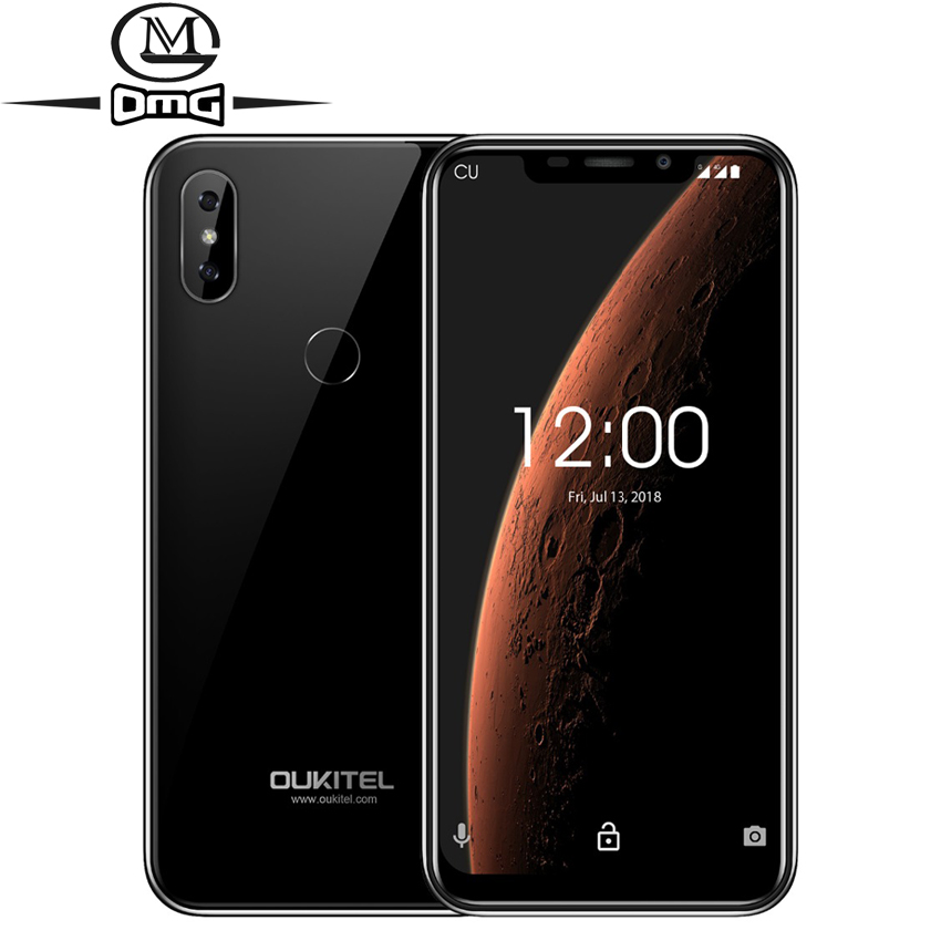"OUKITEL C13 Pro 5G/2.4G WIFI Android 9.0 Mobile Phone 6.18"" 2GB +16GB MT6739 Quad Core Face ID Fingerprint 4G LTE Smartphone"