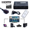 5 Порт HDMI Splitter Переключатель Выбора Switcher Коробка 1080 P С ИК пульт дистанционного Управления + ИК-Приемник Кабель Для Xbox 360 HD DVD ТВ
