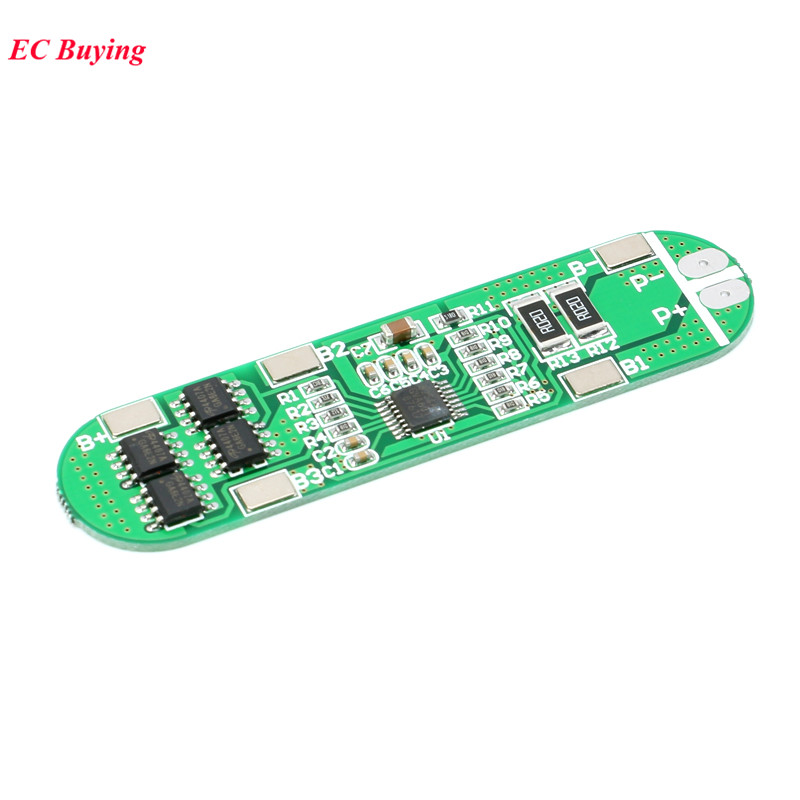 <font><b>4S</b></font> BMS Li-ion <font><b>18650</b></font> 14.8V Battery Protection PCB <font><b>4s</b></font> <font><b>18650</b></font> Polymer Lithium Battery Module 10A Electronic Protected Board image