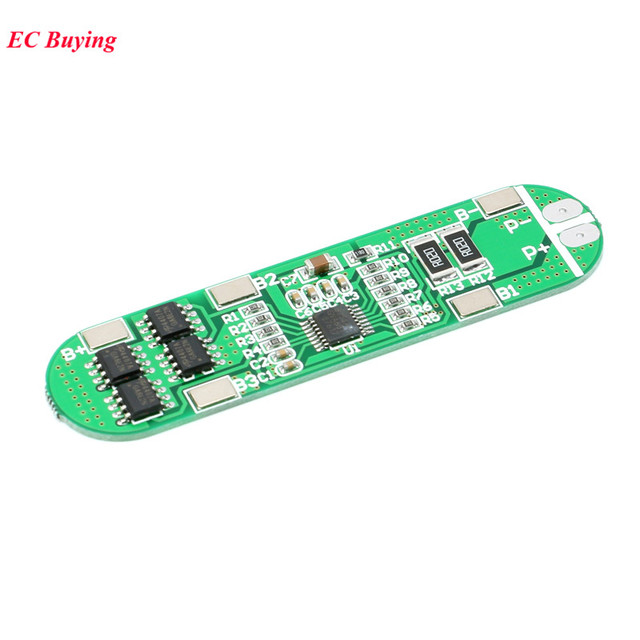 4S BMS Li-ion 18650 14.8V Battery Protection PCB 4s 18650 Polymer Lithium Battery Module 10A Electronic Protected Board