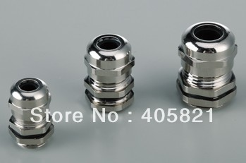 M14 1 5 IP68 Waterproof brass Cable Gland For 8 4mm Cable Range
