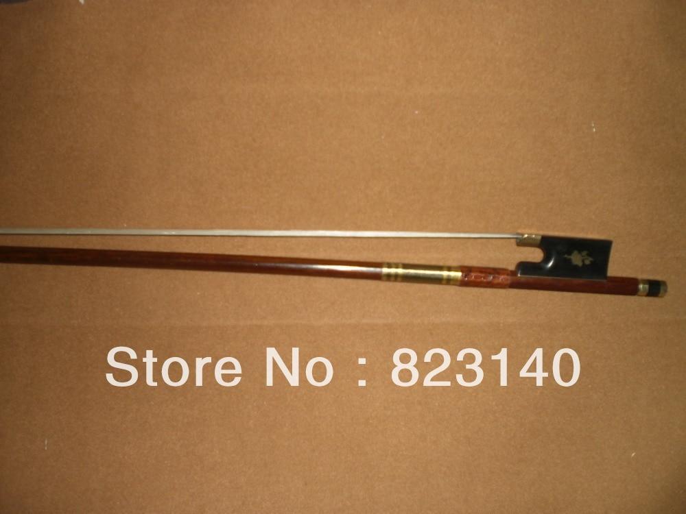 33ffea2e2 3 unids 4 4 Niza madera de brasil Violines ébano arco Rana Cooper ascendió  1008