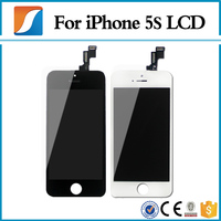 Screen Display For IPhone 5S LCD Assembly With OEM Front Glass Assembly Free DHL Ship