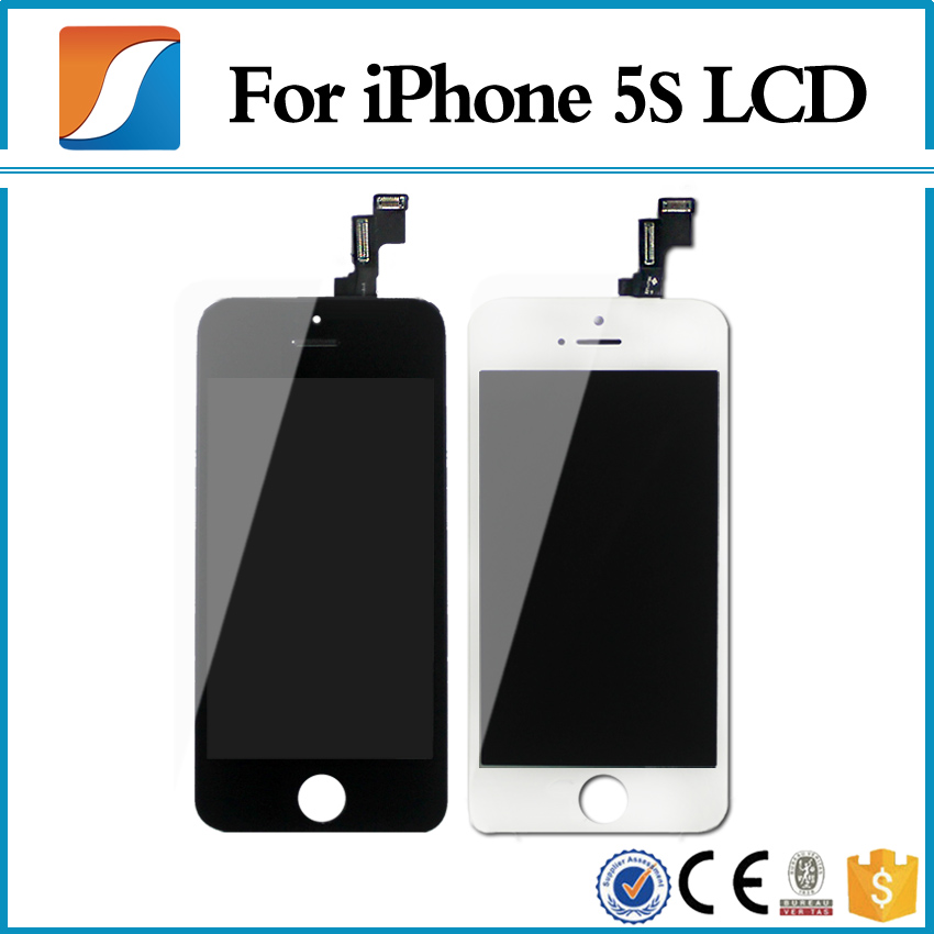 iphone 5s lcd grade aaa 10pcs lot for iphone 5s lcd with touch screen 6036