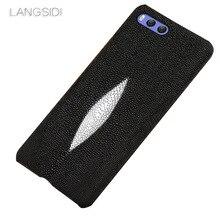wangcangli brand mobile phone case Pearl fish half a pack holster For Xiaomi Note3 handmade custom processing