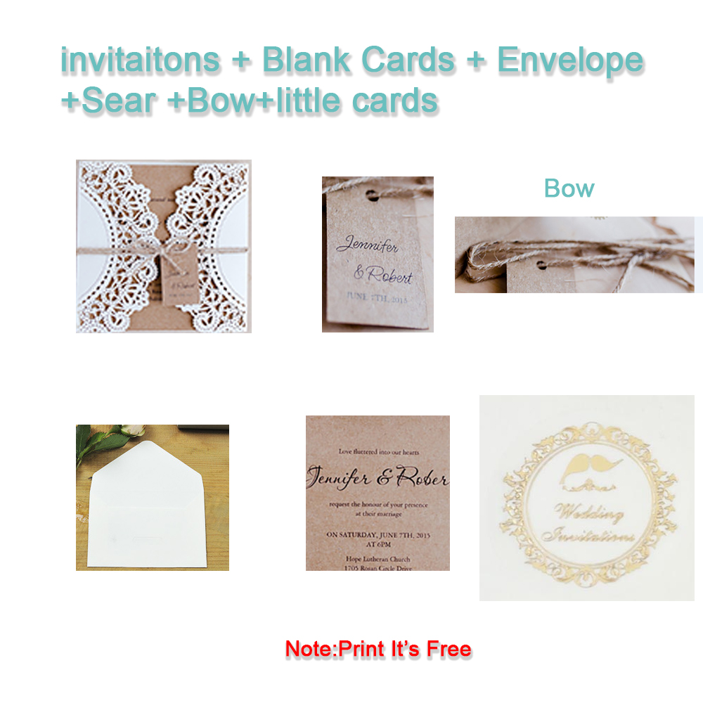 2 Set DIY Send Little Cards Design Gears Lace Wedding Invitations Cards Flower Pattern Laser Cut Paper Invite Customize in Cards Invitations from Home Garden